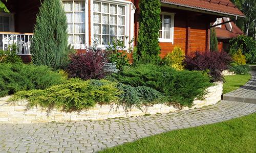 Дачный ландшафтный дизайн в Липецке